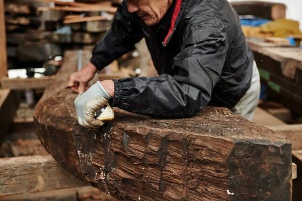 古木のプロフェッショナルであること
