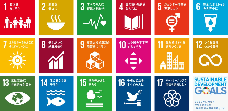 SDGs達成に向けた取り組みのサムネイル